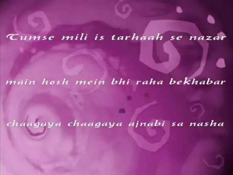 Chaahata Dil Tumko Tum Nahin Janate   Shaapit 2010 With Lyrics video