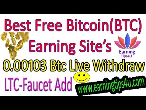 Best Free Bitcoin Earning Site - Live Payout Proof In Hindi