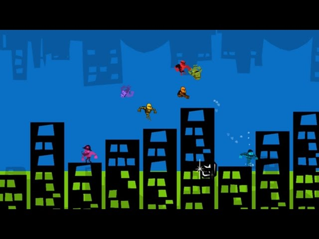Runbow - 9-Player Developer Commentary - GDC 2015