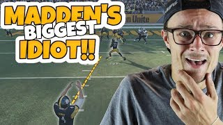 MADDEN'S BIGGEST IDIOT - THIS IS NOT OK... Madden 18 PACKED OUT