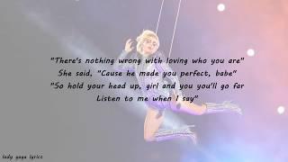 Lady Gaga - Superbowl performance Lyrics