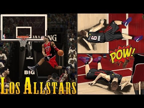 NBA 2K13 AllStars - Chris Smoove Gets PUNCHED 8 Times By VC Jr. ! | Justin Bieber, We're Sorry !