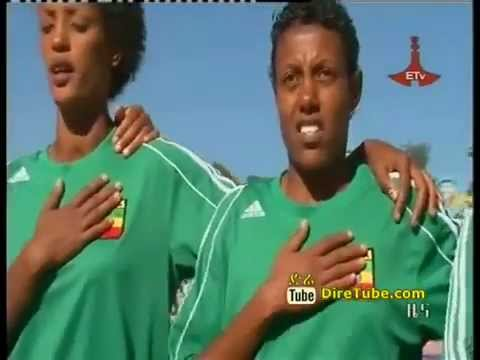 Ethiopia Women soccer team defeated their Egyptian counterpart 4-0