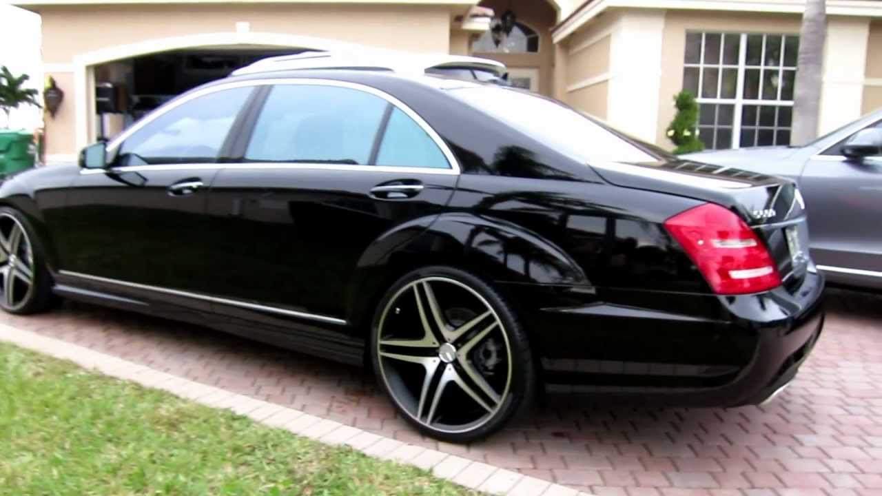 2013 Mercedes Benz S550 On 22 Quot Rims By Advanced Detailing