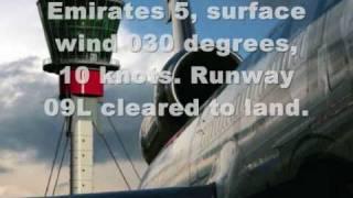 London Heathrow (LHR) Tower Air Traffic Control Recording