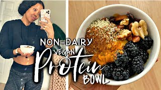 ???? QUICK EASY PROTEIN BOWL NON-DAIRY PLANT BASED MEAL PREP |ELECTROLYTES + $40 ALDI HAUL| TASTEPIN