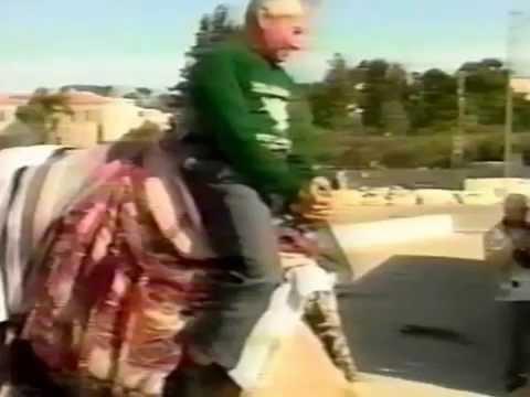 Primer Viaje De Yiye Avila A Israel-Año 1993