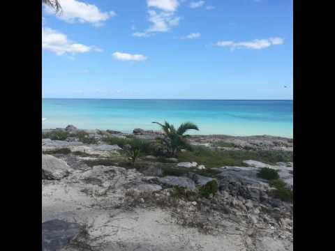 Cortina de playas de Tulum,Quintana Roo,mexico.