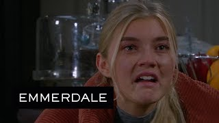 Emmerdale - Leanna Is Horrified When Noah Shops Her to the Police