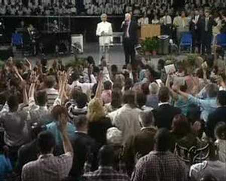 Stuttgart: Mighty Move of God at Benny Hinn Crusade