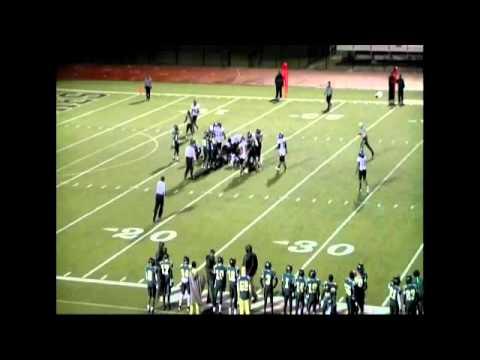 Justin Brown #24 Langston hughes high school football
