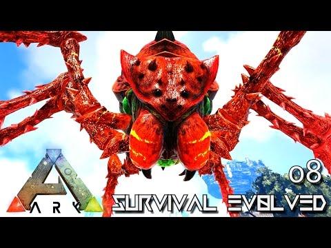ARK: SURVIVAL EVOLVED - NEW TEK REX & PRIMEVAL BROODMOTHER TAME !!! E08 (MODDED ARK PUGNACIA DINOS)