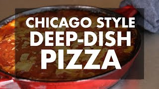 Chicago Style Deep Dish Pizza with Chef Greg | REC TEC Grills