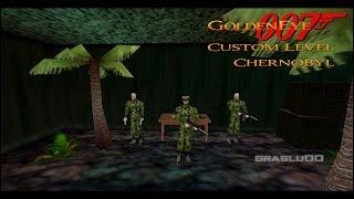 GoldenEye 007 N64 - Chernobyl - 00 Agent (Custom level)