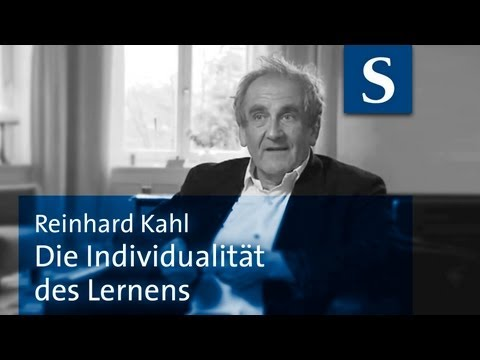 Norm und Perfektion = Ewige Mythen? | Reinhard Kahl (Interview 2011)