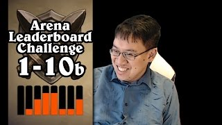 Hearthstone: Arena Leaderboard Challenge 1-10 - Forever Alone - Part 2 (Hunter Arena)