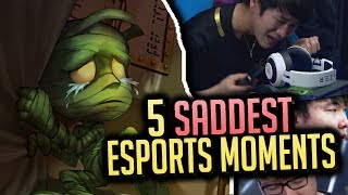 5 SADDEST Moments in League of Legends Esports