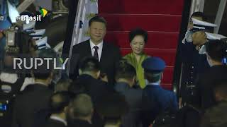 Brazil: Xi Jinping arrives in Brasilia ahead of BRICS summit