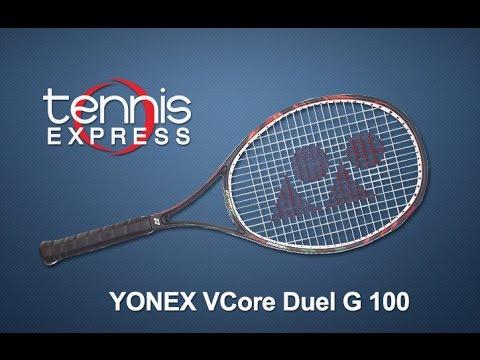 Yonex VCore Duel G 100 Racquet Review | Tennis Express