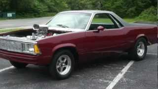 1980 El Camino For Sale~Pro Street~454 Big Block~Just Restored~Beatuiful & Nasty!