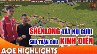 Trận thua ám ảnh nhất trong cuộc đời của ShenLong | AoE Highlight