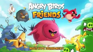 Angry Birds Friends – Movie Hype Tournament!