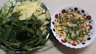 Món ngon mỗi ngày #bữa cơm gia đình mắm chưng thịt ba gọi #