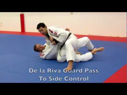 Brazilian Jiu Jitsu Video: De la Riva Guard Passing with Rodrigo Sul Image 1