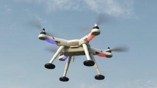 Kamera Drohne V303 Seeker Quadrocopter Mit GPS & Autopilot Test Flug
