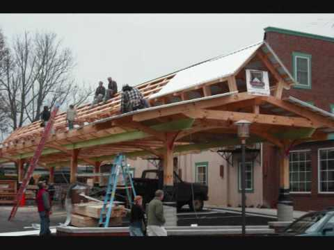 Building the Floyd Community Market , Floyd Virginia 10-30-09.wmv