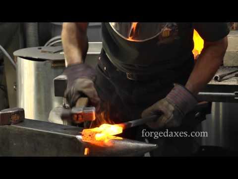 Forge Welding a Viking-Era Axe Eye with James Austin