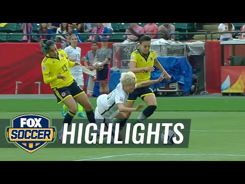 USA vs. Colombia - FIFA Women's World Cup 2015 Highlights