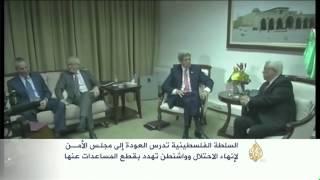 السلطة الفلسطينية تدرس العودة إلى مجلس الأمن