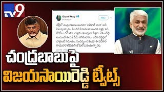 Vijaya Sai Reddy satirical counter tweets on Chandrababu