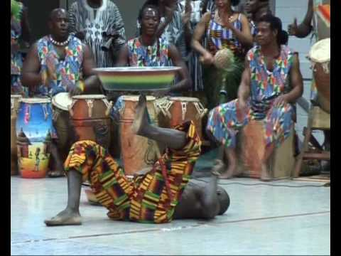 Alassa show african music dance ghana percussion africa workshop