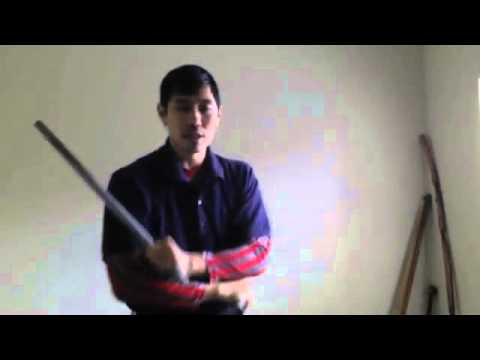 eskrima simple exercise combo technique 4 count drill Image 1