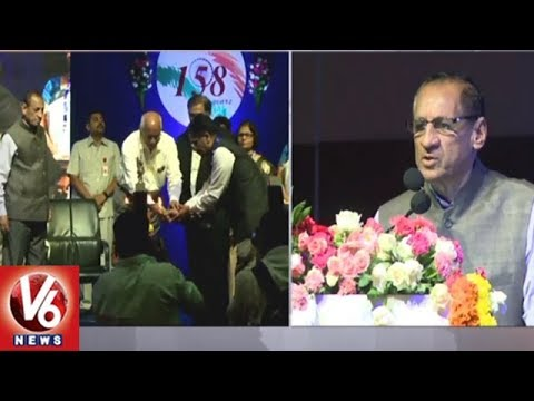 Governor Narasimhan Participate In 158th Income Tax Day Celebrations | Hyderabad | V6