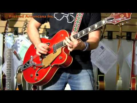 1957 Gretsch Chet Atkins Hollow Body 01014