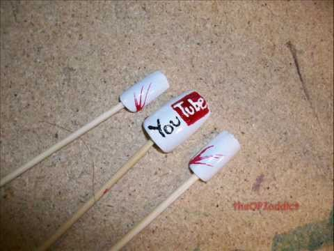Website Series- Design #2- Youtube Nail Art Tutorial