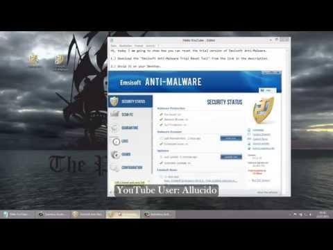Emsisoft Anti-Malware Trial Reset Tool [fully working+tutorial] [July 2013]