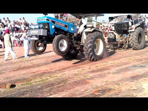 Tractor Tochan Standard Vs Ford 7000 video