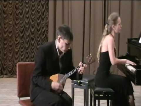 Василенко.Концерт для балалайки.2 ч.