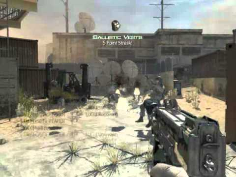 MW3:  5 Man Spray with the PM-9