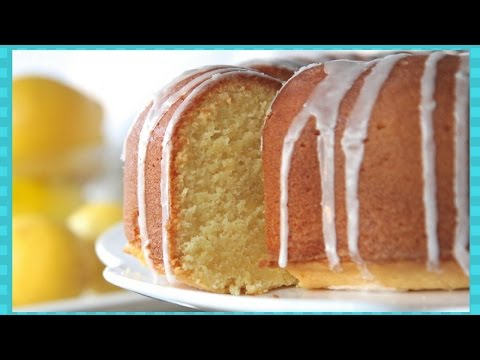 Real Southern Lemon Pound Cake Recipe