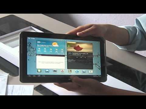 Unboxing Samsung Galaxy Tab 2 10.1