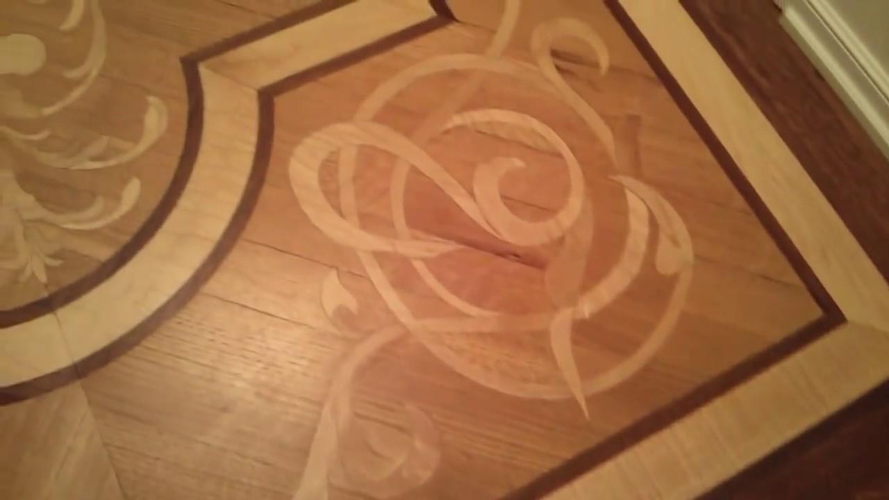 Beautiful Wood Floor Inlays Lehman Arts Bldg Nyc Youtube