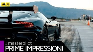 $2.3m Aston Martin Vulcan - fly by Ben Collins @ Michelin PS4S Palm Springs   Prime impressioni