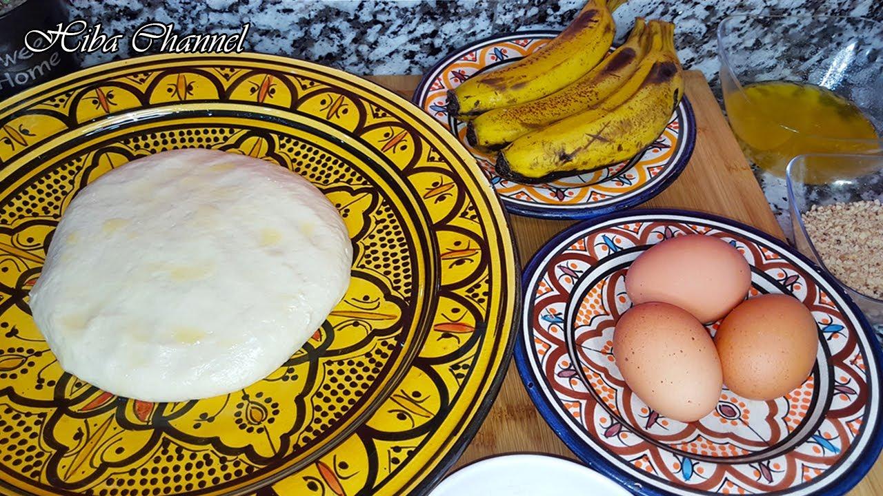 مسمن معمر بالموز و البيض بطريقة جديدة ومختلفة و بمكونات موجودة فكل بيت/ فعلا يستحق التجربة ????????