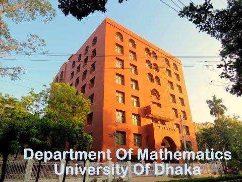 Dhaka University  Students Life In Mathematics Department video