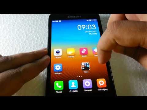 Quick Review:MIUI 5.0 Custom ROM on Samsung Galaxy Note GT-N7000